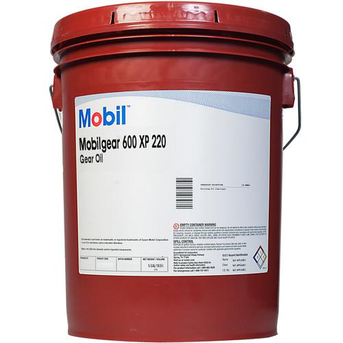 Mobilgear™ 600 XP 220 Amber Gear Oil - 5 Gallon Pail