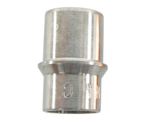 Military Standard MS21922-4C Stainless Steel Sleeve, Clinch, Tube Fitting