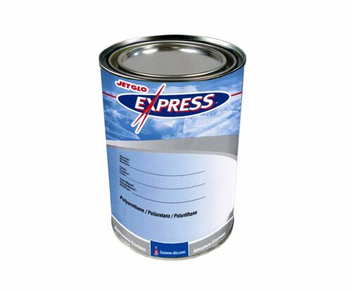 Sherwin-Williams® F92B2026 JET GLO® Express FS#27038 Black MIL-PRF-85285D Spec High-Solids Polyurethane Topcoat - Gallon Can