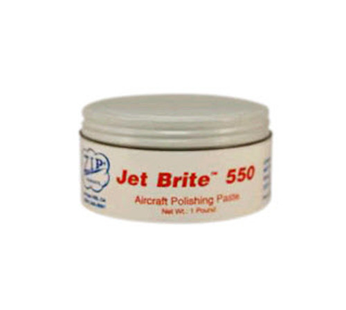 Zip-Chem® 002143 Calla® Jet Brite 550 Aircraft Polishing Paste - 16 oz Tin