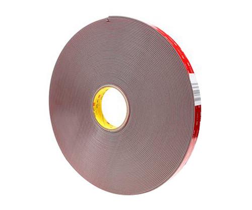 """3M™ 021200-56083 VHB™ 4991 Gray 91 Mil Acrylic Foam Tape - 1"""" x 36 Yard Roll"""