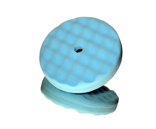 """3M™ 051131-05708 Blue 8"""" Ultrafine Foam Pad - 6 Pads/Case"""
