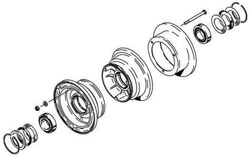 Cleveland Wheel & Brake 40-406A Wheel Assembly