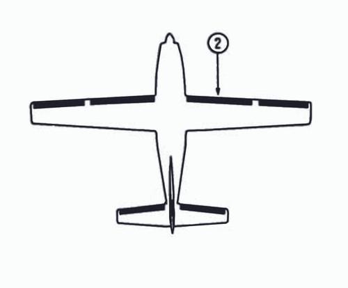 Goodrich P29S7D5175-24 FASTboot® Cessna 208, 208A & 208B RH Inboard Wing De-Ice Boot