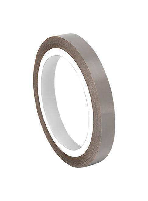 "DeWAL® DW204-10 Gray Skived PTFE Teflon Tape - 1.00"" x 36 Yard Roll"
