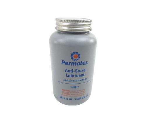Permatex® 80078 Silver Aluminum Anti-Seize Lubricant - 236 mL (8 oz) Brush-Top Bottle