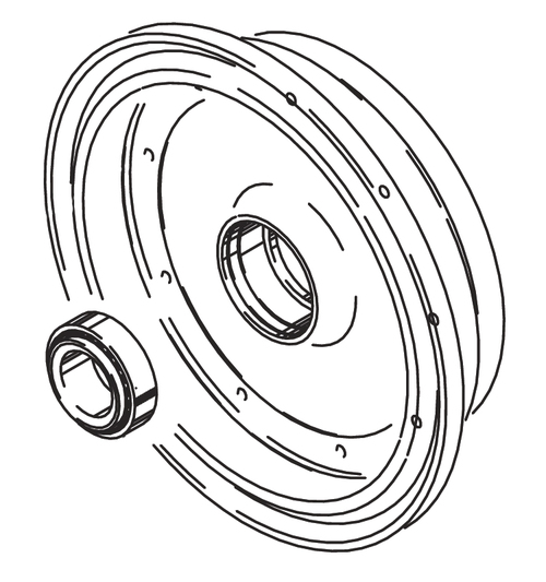 Cleveland Wheel & Brake 162-03400 Outer Wheel Half Assembly