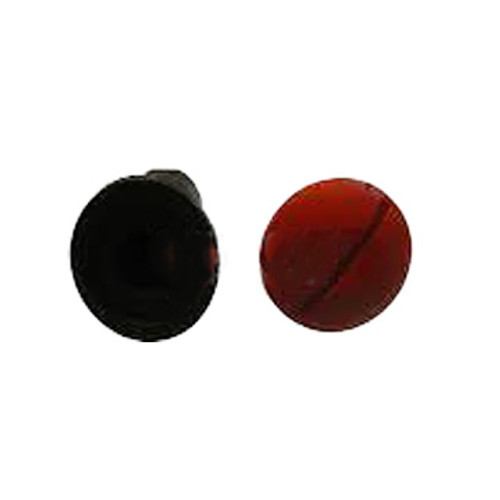 """3M™ 048011-14915 Roloc™+ Black/Red 1/4"""" Shank Button Combination Pack 1 and 7"""