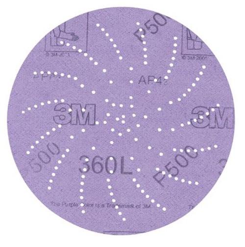 """3M™ 051131-01708 Hookit™ 5"""" 360L P400 Grit Clean Sanding Disc"""