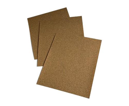 "3M™ 051144-02115 346U Gold 9"" X 11"" 80 Grit Sand Paper Sheet"