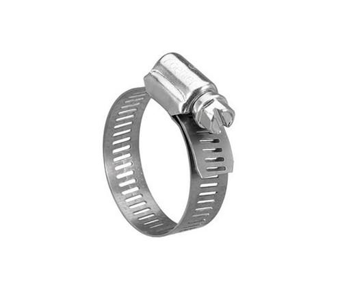 "Breeze 6604 Stainless Steel 7/32"" - 5/8"" Diameter Mini Clamp"