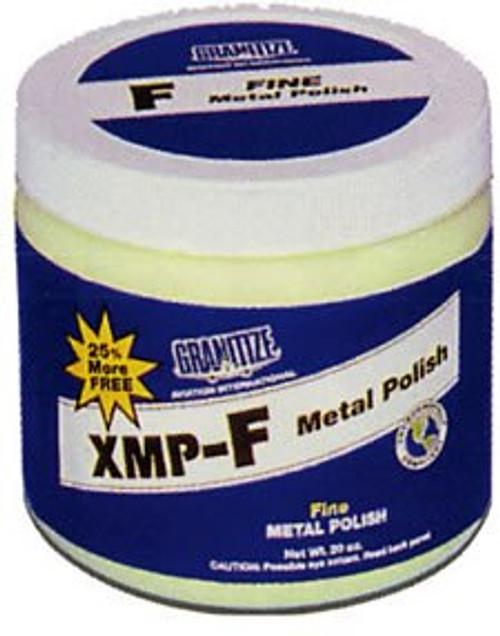 GRANITIZE™ Aviation XMP-F Yellow Fine Grade Swirls Removing Metal Polish - 20 oz Plastic Jar