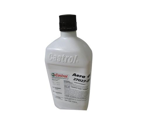 Castrol® Aero™ 40 Yellow BMS 3-32C Type II Spec Petroleum Based ISO 15 Aircraft Landing Gear Shock Strut Fluid - Quart Bottle