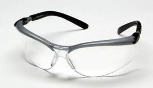3M 078371-62052 BX Protective Eyewear - Silver Frame - Clear Anti-Fog Lens