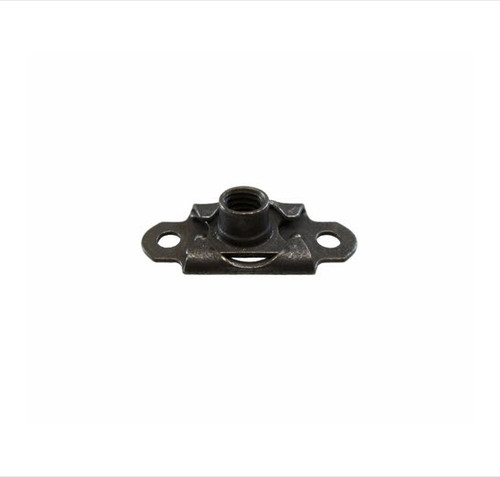Military Standard MS21059L08K Dry Filmed Countersunk Steel Nut, Self-Locking, Plate