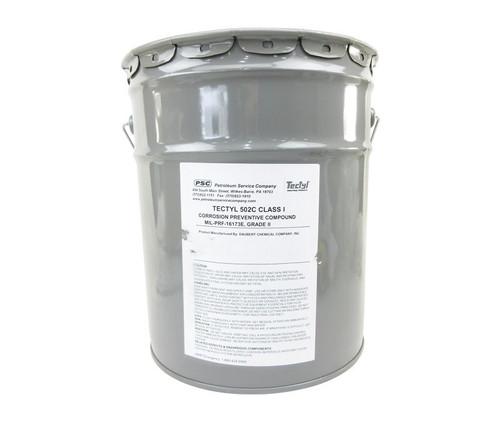 TECTYL® 502C Class I MIL-PRF-16173E Grade 2, Class 1 Spec Corrosion Preventive Compound - 5 Gallon Pail
