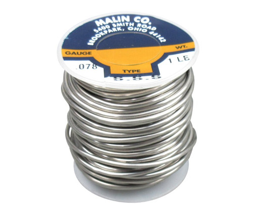 """Military Standard MS20995C78 Stainless Steel 0.078"""" Diameter Safety Wire - 1 lb Roll"""