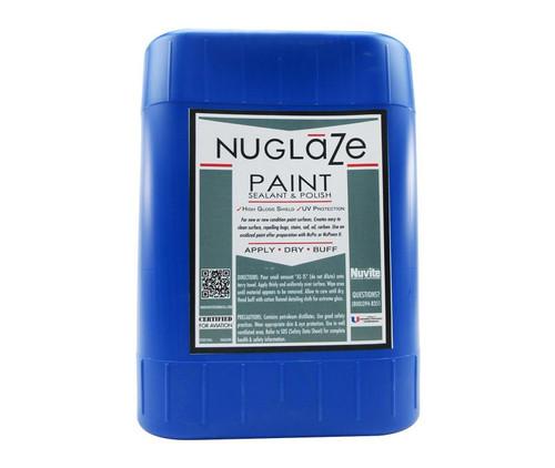 Nuvite PC22755GL NuGlaze PolyFluoro Sealant Aircraft Paint Glosser & UV Protectant - 5 Gallon Pail
