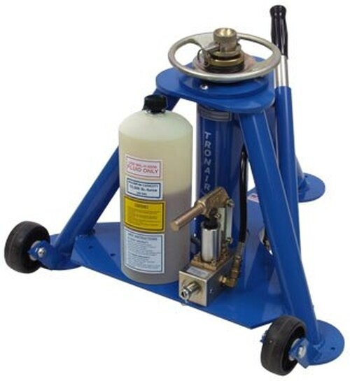 Tronair® 02-0517C0140 Blue Hydraulic Aft Tripod Jack (5 ton/4.5 metric ton) (CE)