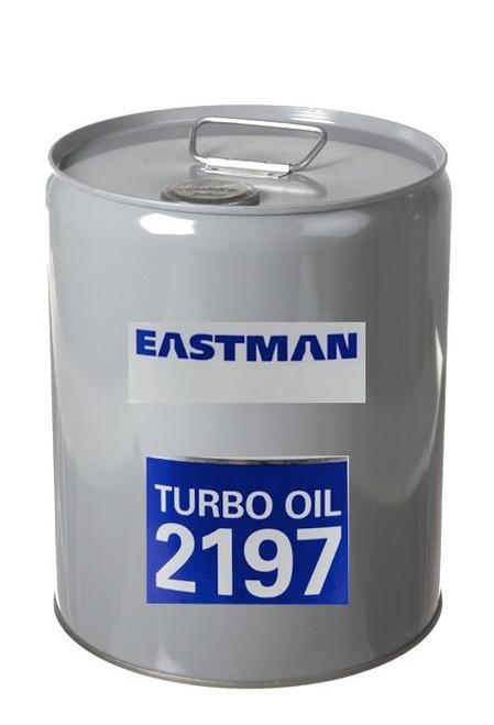 Eastman™ Turbo Oil 2197 Clear MIL-PRF-23699 HTS Spec Aircraft Turbine Engine Lubricating Oil - 5 Gallon (18.42 Kg) Steel Pail