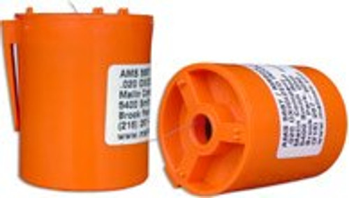 """Military Standard MS9226-07 Oxidized Inconel 0.063"""" Diameter Safety Wire -1 lb Roll"""