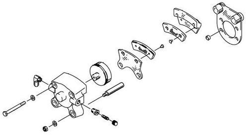 Cleveland Wheel & Brake 30-75A Brake Assembly