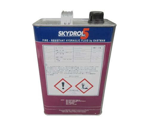 Eastman™ Skydrol® 5 Purple BMS3-11P Type V, Grade B & C Spec Fire Resistant Hydraulic Fluid - 9.11 Kg (Gallon) Can