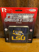 LSU Premium Coaster Set