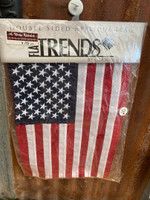 Double Sided USA Applique Flag