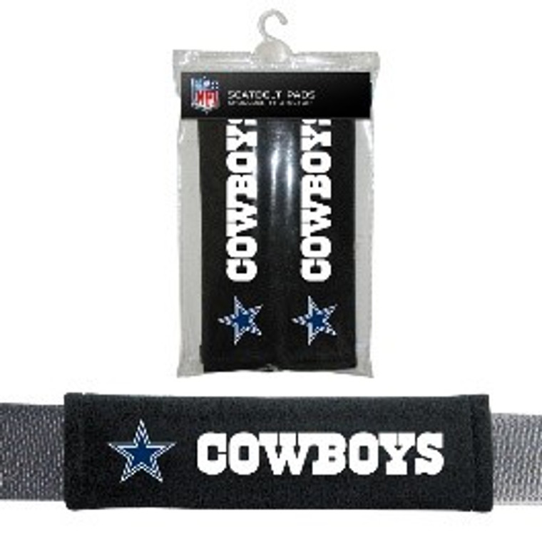 Seat Belt Shoulder Pads - NFL Football - Dallas Cowboys - Pair