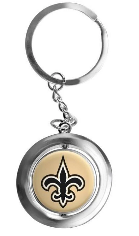 New Orleans Saints Key Ring
