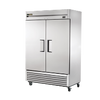 """TRUET-49-HC 54 1/10"""" Two Section Reach In Refrigerator, (2) Left/Right Hinge Solid Doors, 115v"""