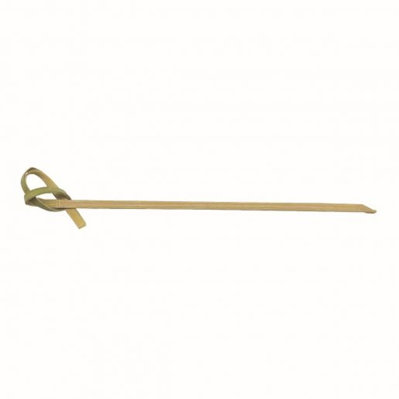 """Winco PK-KT4 4"""" Long Knotted Top Bamboo Picks"""