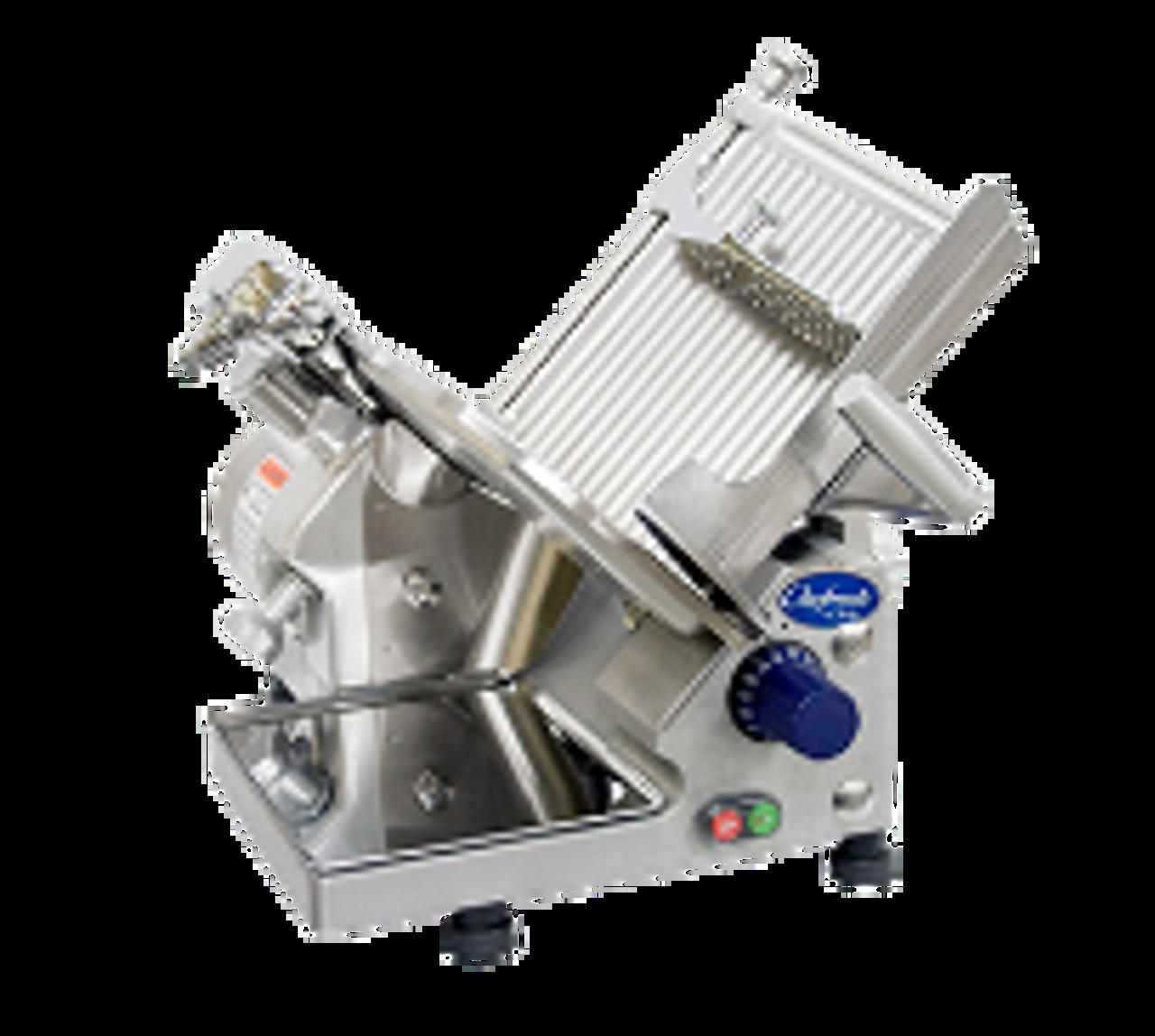 "Globe Chefmate GC512 12"" Manual Gravity Feed Slicer - 1/3 hp"
