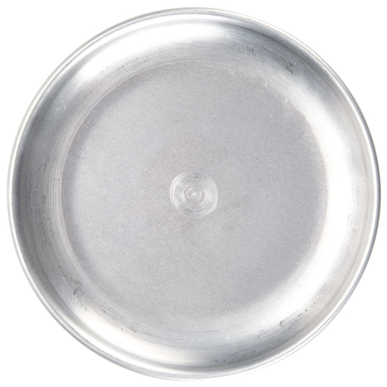 """American Metalcraft CTP15 15"""" Standard Weight Aluminum Coupe Pizza Pan"""