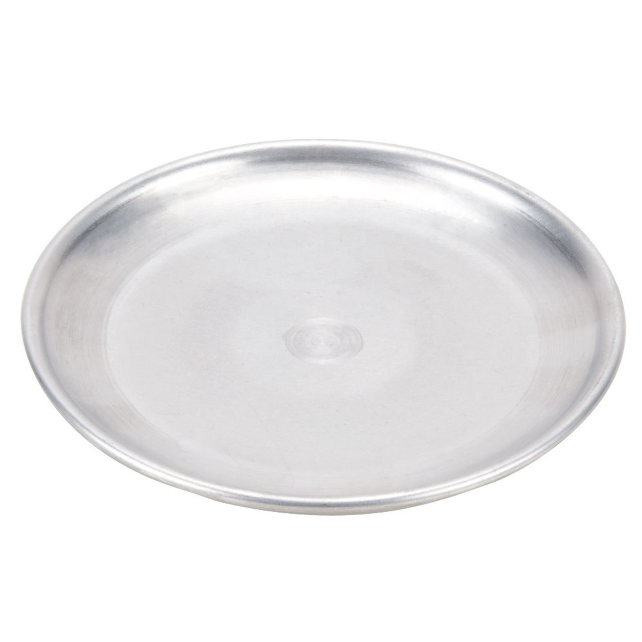 """American Metalcraft CTP14 14"""" Standard Weight Aluminum Coupe Pizza Pan"""