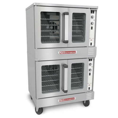 Southbend SLES/20SC SilverStar Double Full Size Electric Convection Oven - 12kW, 208v/3ph