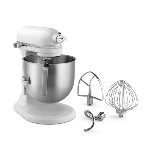 NSF Certified® Commercial Series 8-Qt Bowl Lift Stand Mixer