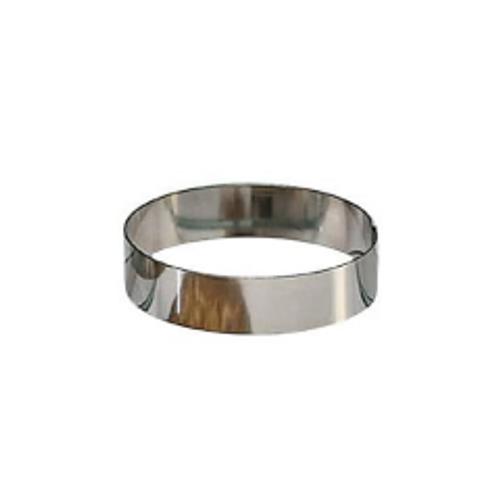 "American Metalcraft HB497 Stainless Hash Brown Ring 5"" Diameter"