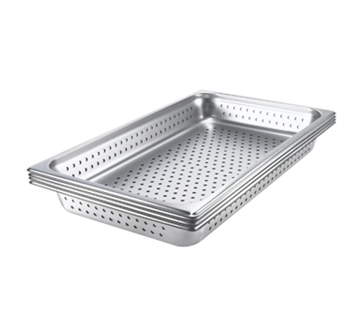 """Browne Foodservice 578014 Full-Size x 4"""" D Perforated Pan"""