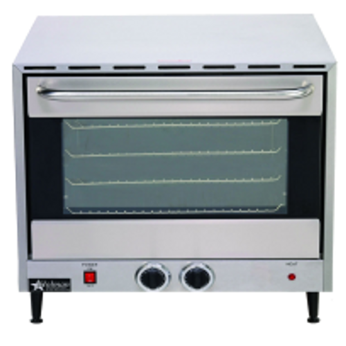 Star CCOH-3 Stainless Steel Electric Countertop Half Size Convection Oven 120V