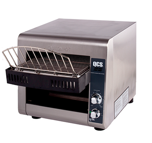 """Star QCS1-350 Conveyor Toaster - 350 Slices/hr w/ 1 1/2"""" Product Opening, 120v"""