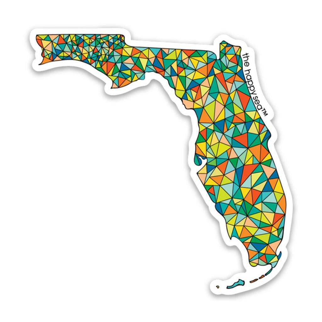 "3"" Florida Vinyl Sticker"