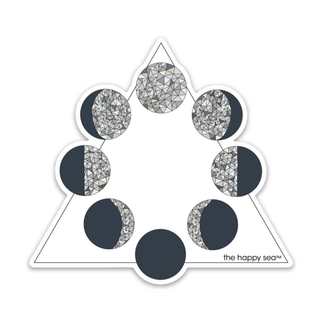 "4"" Moon Series Vinyl Sticker"