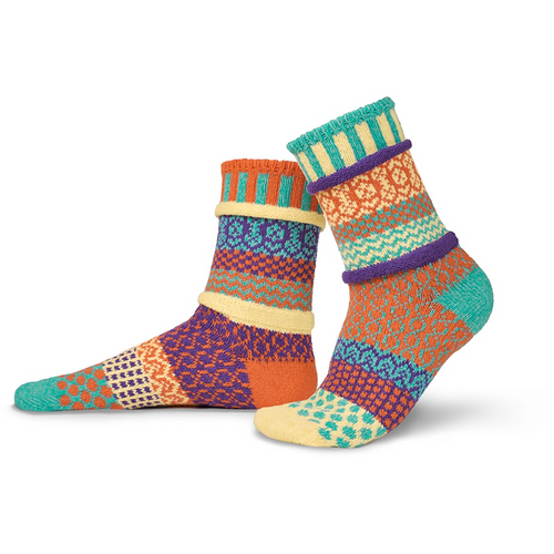 Incredibly soft and cozy, and made from recycled yarn in the USA!