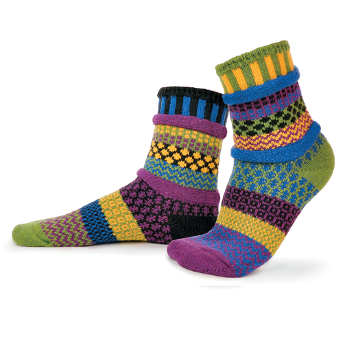 Perfect for a cool October morning! Made from recycled yarn in the USA!