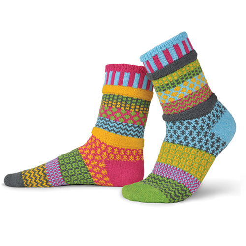 Made from recycled yarns in the USA!