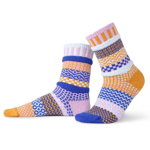 Fresh and fun! Made from recycled yarn made in the USA!