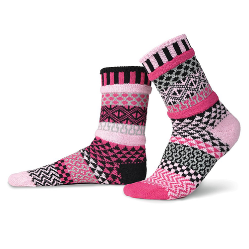 Pretty in Pink! Made from recycled yarns in the USA!