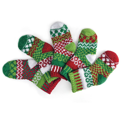 Perfect for the holidays! Made with love with recycled yarn and in the USA!